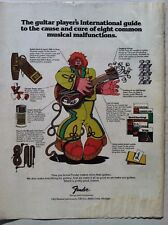 1976 MARTIN GUITAR INTERNATIONAL GUIDE TO MUSICAL MALFUNCTIONS COOL VINTAGE AD