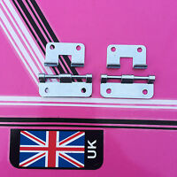 (pair) lift off hinges / hook over hinges for flight case box ect heavy duty