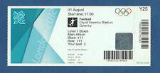 Orig.Ticket   Olympische Spiele LONDON 2012  FUSSBALL  JAPAN - HONDURAS ! SELTEN