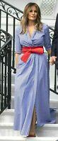 New Ralph Lauren Collection Purple Label Rivera Long Maxi Gown Dress + Shorts 2