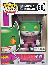 Funko 5230 DC Comics Super Heroes The Joker Batman #65 Pop Loot Crate