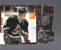 1998-99 UD3 Die-Cut Parallel Hockey Cards Pick From List