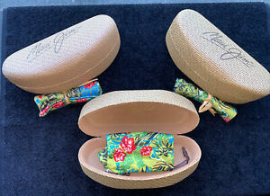 Maui Jim Case Hard Clamshell & Cleaning Cloth Pouch For Large Size Shades