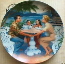 """Edwin Knowles South Pacific """"Dites-moi"""" 8.5 Inches Coa & Booklet"""