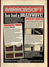 Phineas Frogg, King Tuts Treasure, Spectrum, 1985 Magazine Advert #17864