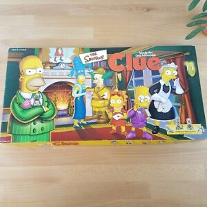 The Simpsons Clue Game Hasbro/Parker Brothers 2000 Replacement Pieces- You Pick
