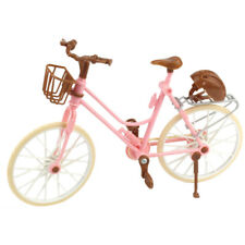1Pc Beautiful Pink Bicycle Detachable Bike Toys Accessories for Barbie Doll AU