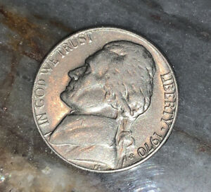 1970 S United States Jefferson Nickel 5c Coin