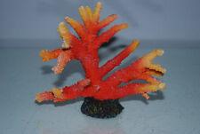 Decorazioni ornamenti arancione per acquari