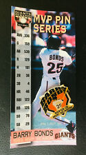 Pin/Pinback ~ BARRY BONDS, 1993 MVP SEASON, SAN FRANCISCO GIANTS, #1 of 2