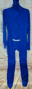 Morphsuit Costume..SZ: L Adult Bue Full Body cover