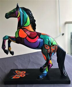 Trail of painted Pony custom Marposa Mare 1/1 sign by artist Jennifer Leigh