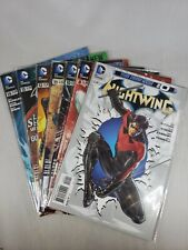 Nightwing #0, 8, 10, 11-14 Lot of 7 DC Comics The New 52! Comic Books 2012-2013