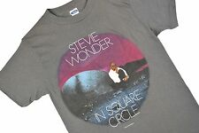 xs VTG 80s Stevie Wonder Concert Tour T Shirt IN SQUARE CIRCLE 1986 50/50 USA