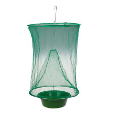 Durable Green Fly Catcher Killer Cage Net Trap Insert Bug Pest Hanging Catc jE