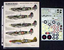 AeroMaster Decals - Spitfire Mk IX Collection - Part 1 - 48-123C - FREE SHIP!
