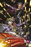 🚨🤡🔥 JOKER #1 MARK BROOKS Limited Team Variant NM Gemini Shipping Punchline