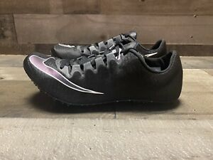 Nike Zoom Superfly Elite Men's Size 7.5 Black Track Field Spikes 835996-002 NEW