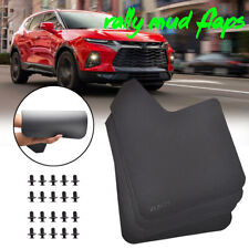 XUKEY Rally Mud Flaps Splash Guards Mudguard Fender For Chevrolet Chevy Mudflaps