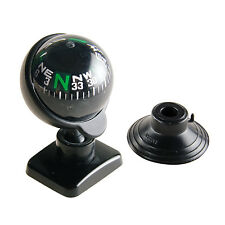 Full View Compass Ball Dashboard Dash Mount Navigation Black Car Compass Ball