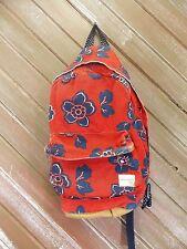 Aeropostale Backpack Red Canvas School Book Bag Tote Junior's Women Kids GUC