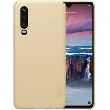 NILLKIN Hard Case Super Frosted Cover Handyhülle Matt Shell Gold für Huawei P30