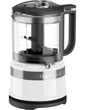 NEW KitchenAid 3.5 Cup Mini Chopper: White 5KFC3515AWH