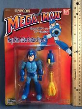 "1994 1995 Bandai Capcom Mega Man 5"" Action Feature Figure Hero Of 21st Century"
