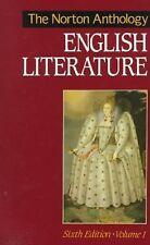 The Norton Anthology of English Literature Vol. 1 (1993, Hardcover)
