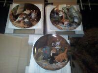 3 seltmann weiden Cat Plates