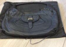 Stunning Fendi Dark Blue Soft Nappa Leather Bag - With Dustbag
