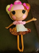 LALALOOPSY SCOOPS WAFFLE CONE FULL SIZE DOLL NEAPOLITAN ICE CREAM HAIR