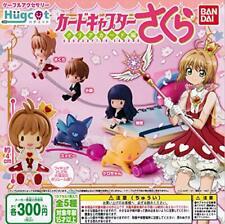 Hugcot Card Captor Sakura 5 set figure tomoyo syaoran kero-chan suppi JAPAN 2020