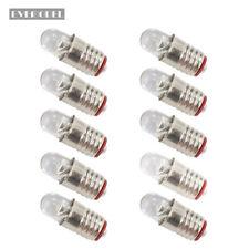 E505WDE NEU 10 Stk. weiß LED 12V-14V Leuchtmittel für Fassung E5 E5.5 H0