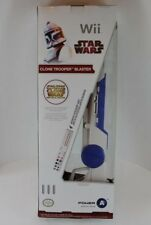 Wii STAR WARS CLONE TROOPER LIGHT GUN Blaster Attachment Official Nintendo