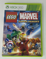 LEGO Marvel Super Heroes (Microsoft Xbox 360, 2013) Complete Tested Working