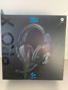 Logitech G PRO X Black Over-Ear Headset