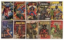 10 Comic Books Vampirella Wolverine Red City Avengers Superman Klarion and more