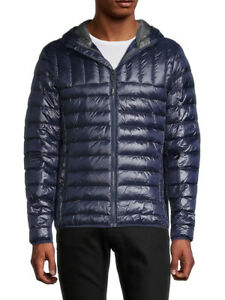 TUMI MEN'S Crossover Hooded Jacket TUMIPAX OUTERWEAR SIZE L NWT