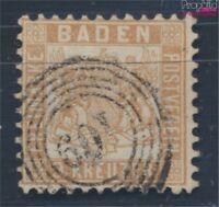 Baden 20ba Pracht geprüft gestempelt 1864 Wappen (8100646