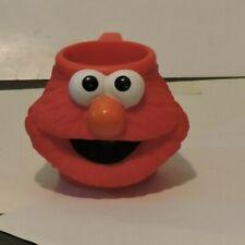 Applause Sesame Street Elmo Red Cup Mug 3D Face Head Jim Henson 1994