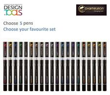 Chameleon Permanent Alcohol Ink Markers set with 5 pens choose of 20 colours