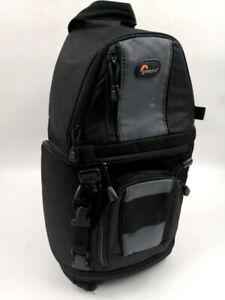 LOWEPRO SLINGSHOT 202 - ALL WEATHER SLR Lens/CAMERA BAG/RUCKSACK w Rain Cover D2