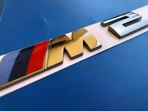 LOGO BMW M2 M235I GRIS SELLIUM F22 F23 F43 F44 M2 BADGE ORIGINAL 51128055967