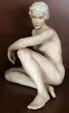 Schaubach Kunst Germany Female Nude Figurine Sculpture Beautiful Form Rare WOW