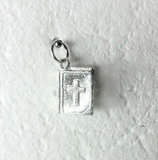 HOLY BIBLE - traditional 925 sterling silver religious charm
