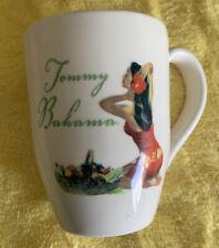 Rare Htf Tommy Bahama Life In Paradise Oversize Coffee Mug Cup 16 oz Hula Girl