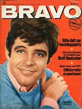 BRAVO 1966 Nr. 6: Peter O'Toole/France Gall & Francoise Hardy/Rolling Stones