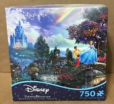 Thomas Kinkade Cinderella Wishes Upon A Dream 750 Ceaco Puzzle Disney