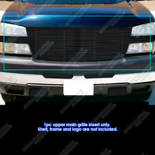 For 05-06 Chevy Silverado 2500/3500 Full Face Black Billet Grille Grill Insert